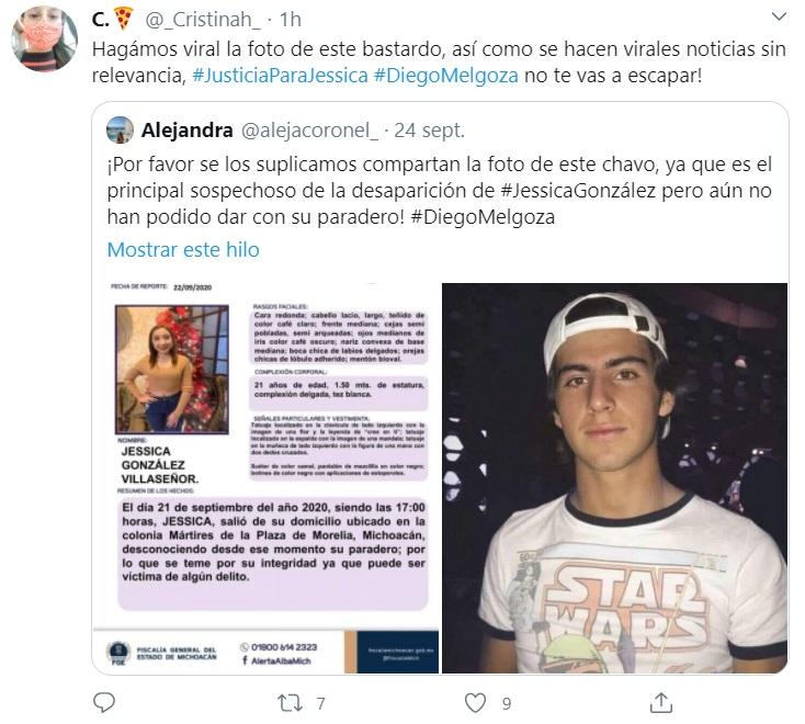 ¿Quién era Jessica González, la joven asesinada en Michoacán?